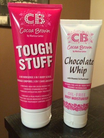 Review: Cocoa Brown Tough Stuff Body Scrub & Chocolate Whip Body Moisturiser