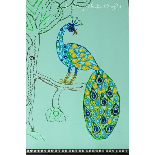 Beautiful Peacock design wall art for yor sweet home.