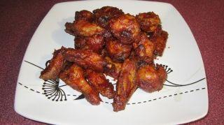 Recette Ailes de poulet avec un léger goût de fumé