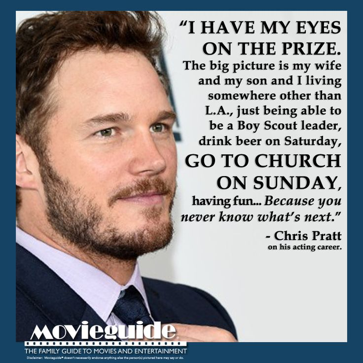 Chris Pratt on the BIG picture! #JurassicWorld #GuardiansOfTheGalaxy #ParksAndRec #ChrisPratt