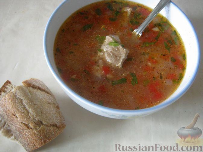 Рецепт: Суп харчо из свинины на RussianFood.com