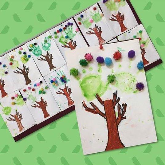 Spring Tree Craft For Preschoolers