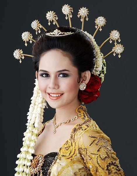 Indonesian Traditional Wedding Makeup : 17 Best images about Beauty with Ethnic Style on Pinterest ...