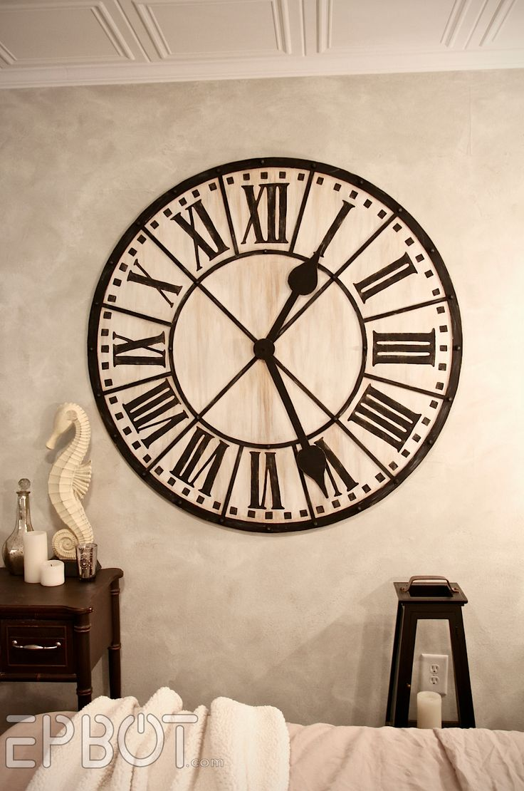 how to make a giant diy giant tower wall clock one day i am going to tackle this tutorial