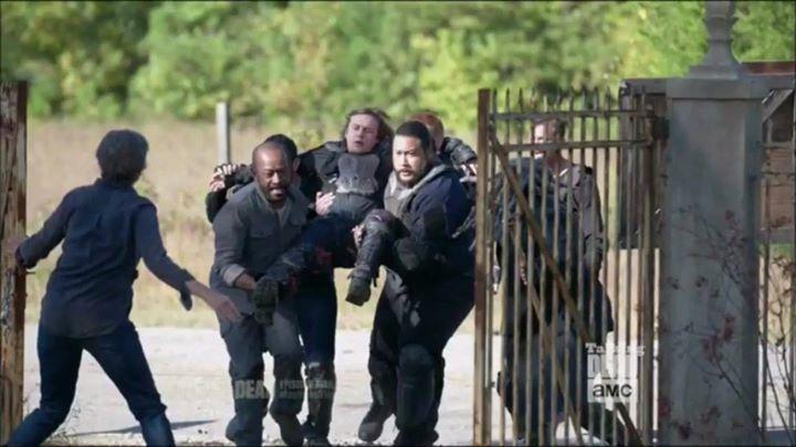 "The Talking Dead Cast Clips of The Walking Dead S7 Ep13 ""Bury Me Here"" #thewalkingdead #twd #thewalkingdeadseason7 #twdfamily #twdfinale #amc #walkingdead #rickgrimes #andrewlincoln #norman #normanreedus #daryl #dixon #michonne #chandler #chandlerriggs #carl #carlgrimes #carol #negan #lucille #maggie #glenn #love"