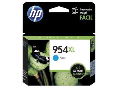 Cartucho de Tinta HP Ciano 954 XL - Original para HP 8210 HP 8710 HP 8720 HP 7740 com as melhores condições você encontra no Magazine Slgfmegatelc. Confira!