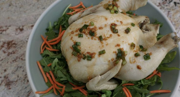 Simple Poached Chicken