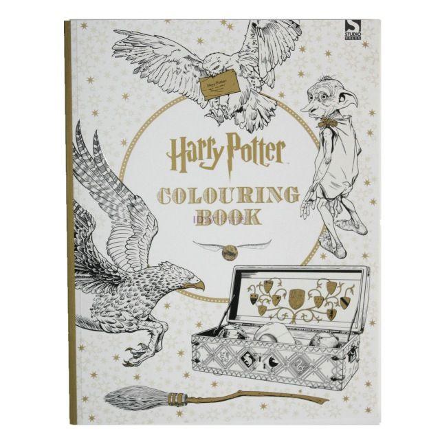 Гарри поттер книжка-раскраска ; книги для детей взрослых секретный сад серии убийство срок живопись рисования