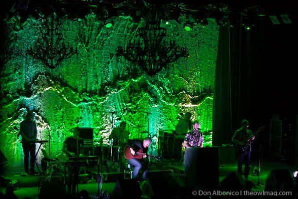 Volcano Choir @ The Fillmore, SF 1/21/14 - via The Owl Mag