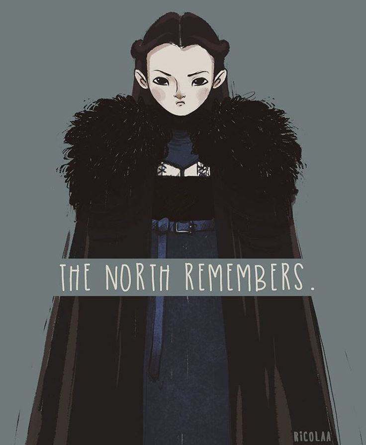 Bear Island knows no King but the King in the North whose name is Stark. #lyanna…