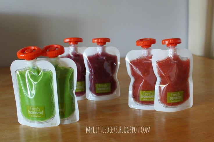 how to make your own baby food pouches