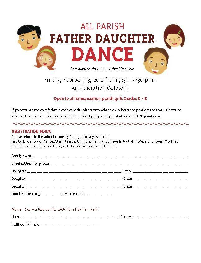 Father Daughter Dance flier   @Yvonne Santos