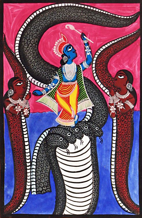50 best images about indian art kalighat paintings on for Folk art craft paint