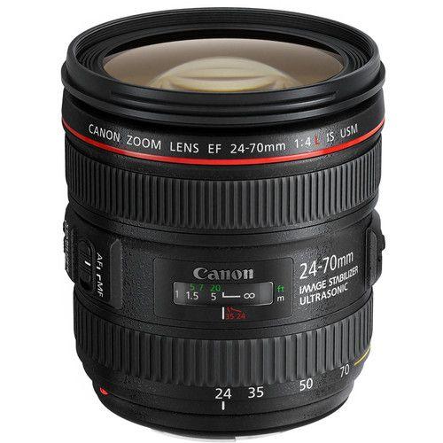 Canon EF 24-70mm f/4L IS USM Lens 6313B002 B&H Photo Video