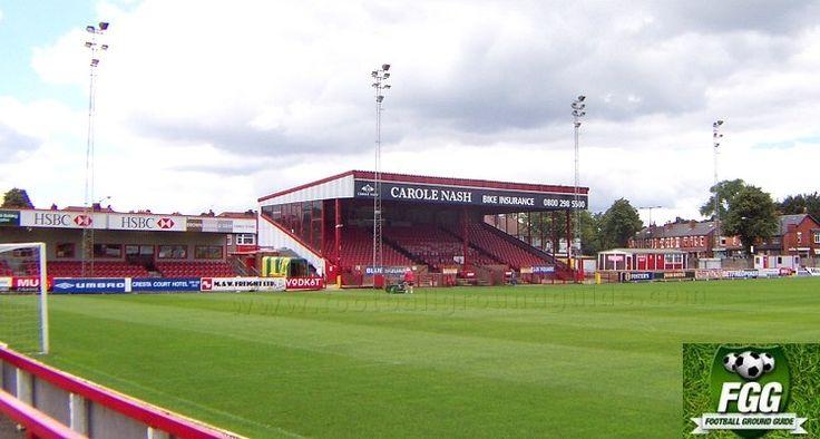 Altrincham FC | J Davidson Stadium |Moss Lane | Football Ground Guide