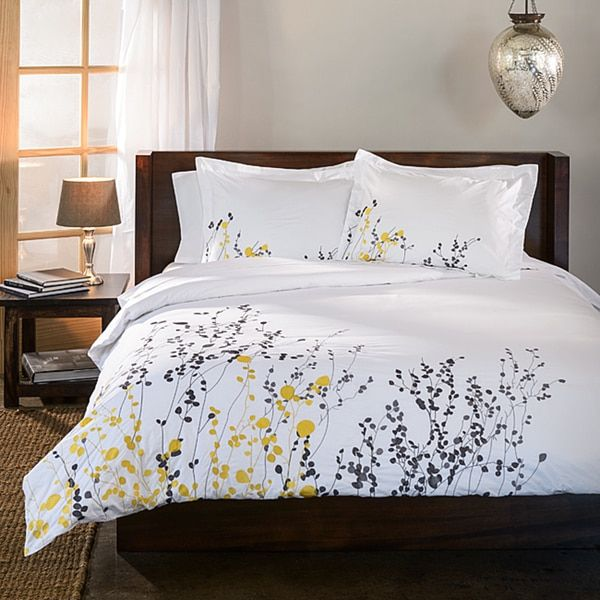 Reed 3-piece Full/ Queen Size Duvet Cover Set (As Is Item)