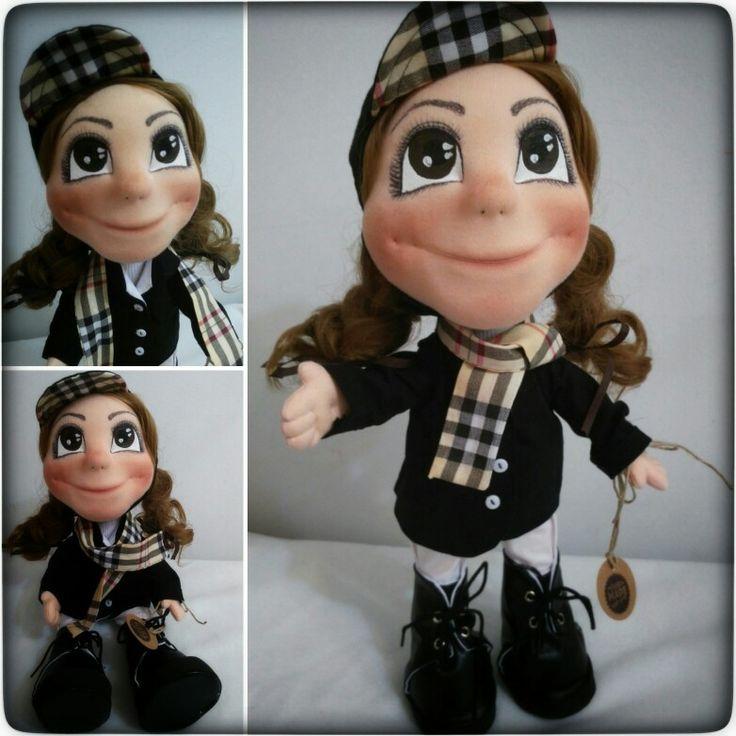 My new handmade doll Horsewoman 😍