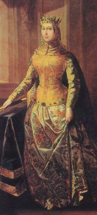 Petronilla - Her marriage to Ramon of Barcelona united the two kingdoms. Her father, Ramiro, was bishop when his brother, Alfonso I, died without an heir, and left the crown to the three religious military orders. His decision was not respected: the nobility of Aragon raised Ramiro to the throne. Two years after her husband's death she abdicated the throne of Aragon and passed it to her seven year old son.