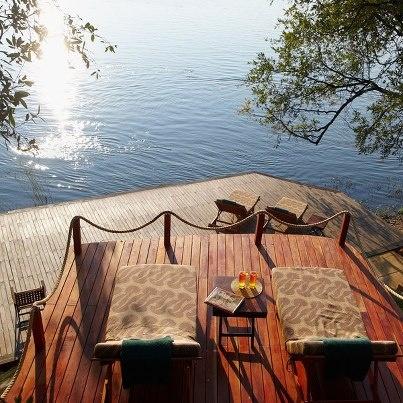 Luxury Safari Lodge Tongabezi, Victoria Falls, Zambia