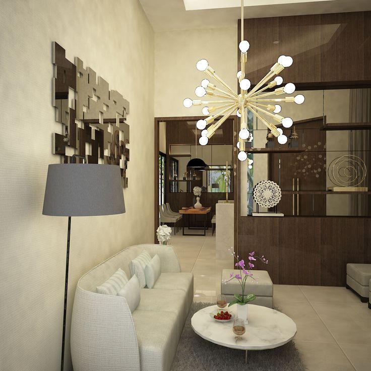 House Project Interior Design at East Jakarta 2015 Entrance