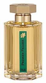 Premier Figuier by L`Artisan Parfumeur is a green, sweet, fresh and milky Floral Fruity fragrance with fig leaf, asafoetida in the top. Fig, sandalwood and almond in the middle. Lime, coconut, dried fruit and sandalwood in the base. - Fragrantica