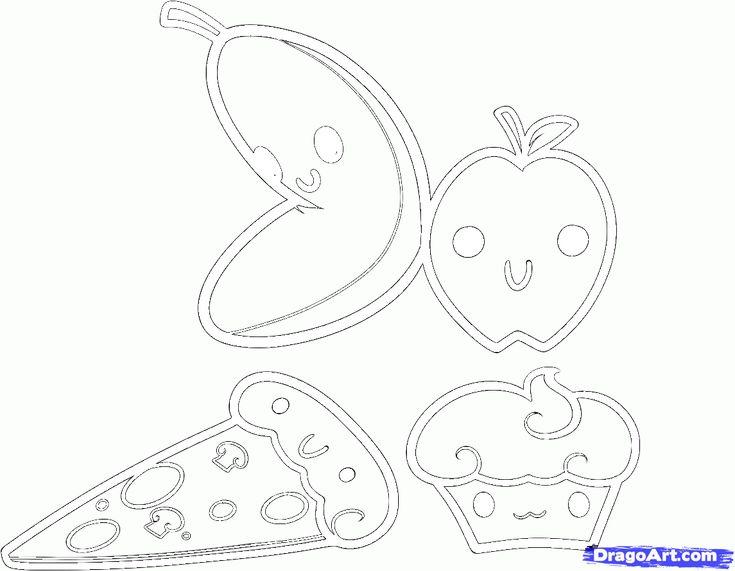 How To Draw Kawaii Food Step 7