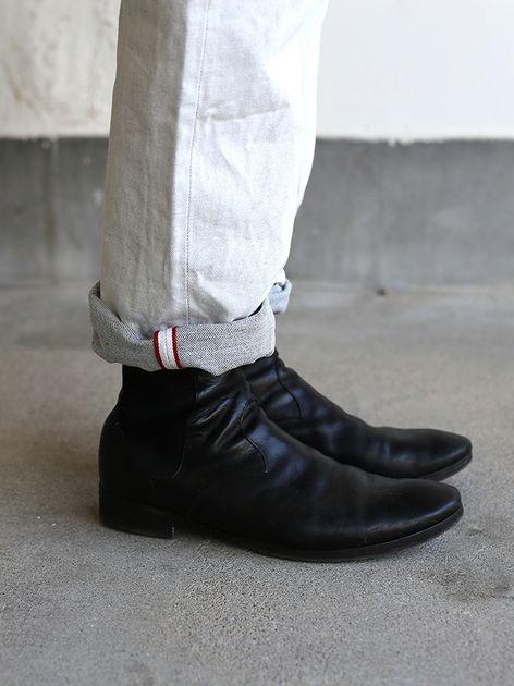 Dolman tunic~wool / SP slim 5pocket pants  5