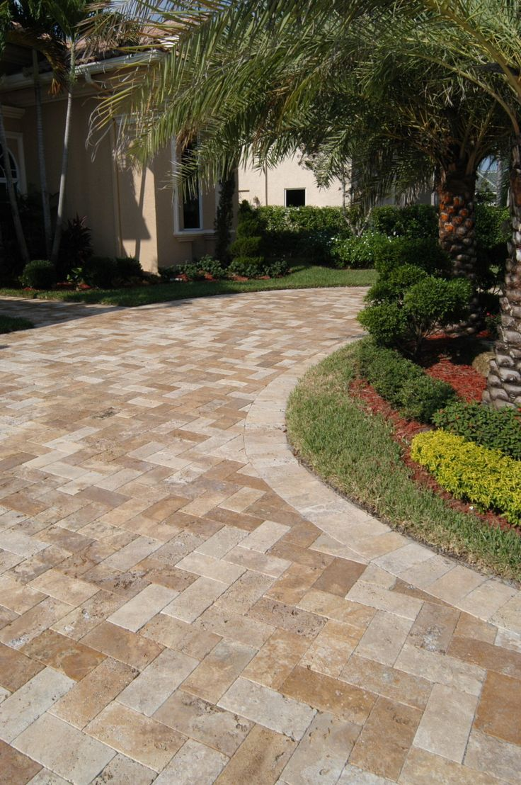 best 25+ travertine pavers ideas on pinterest | paver patio