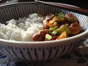 Cómo cocinar #pollo agridulce en media hora. #cenarapida @Veronica Cervera @BabyCenter en Español
