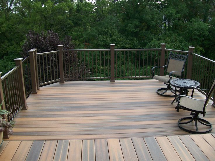 Composite decking decks by design inc usa composite for Composite decking colors available