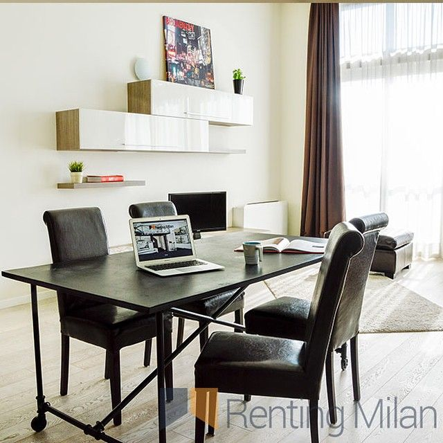 New on #rentingmilan a great Loft with high ceilings in a modern building #milan #milano #loft #rentingmilan