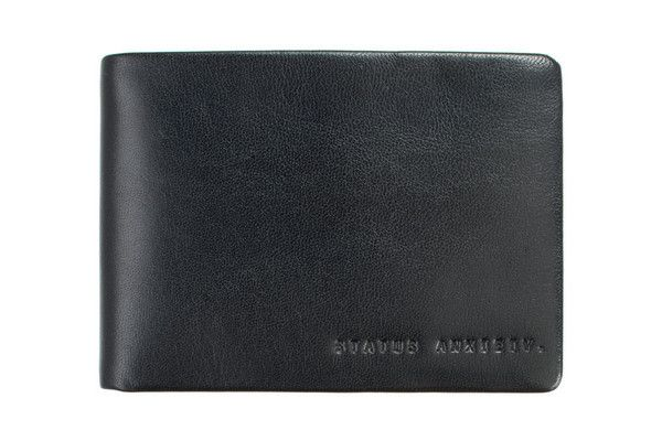 Status Anxiety - Jonah Wallet Black Inc Free Australia Wide Delivery