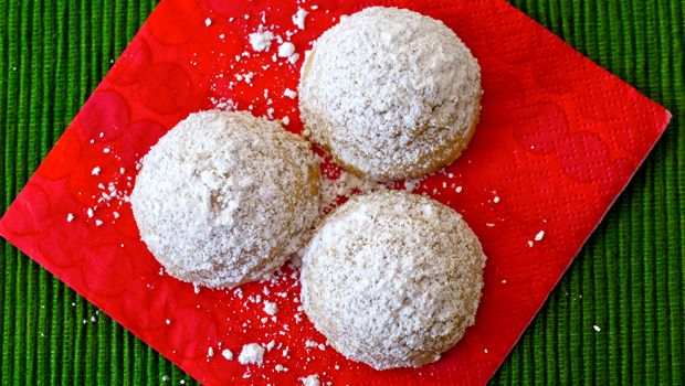 ... Cookies, Dec 19th: Holiday Snowballs (aka Mexican Wedding Cookies