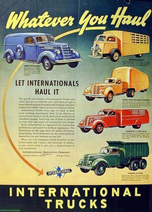 1938 International Truck Ad