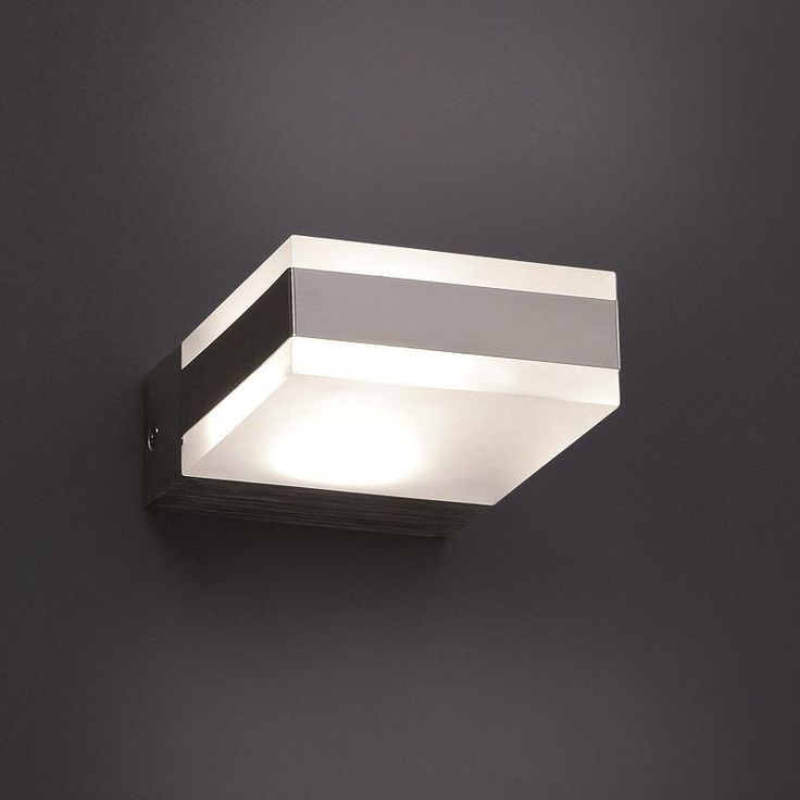 Lovely LED Wandleuchte Lampe Leuchte Wandlampe Design modern Glas Neu in M bel u Wohnen Beleuchtung
