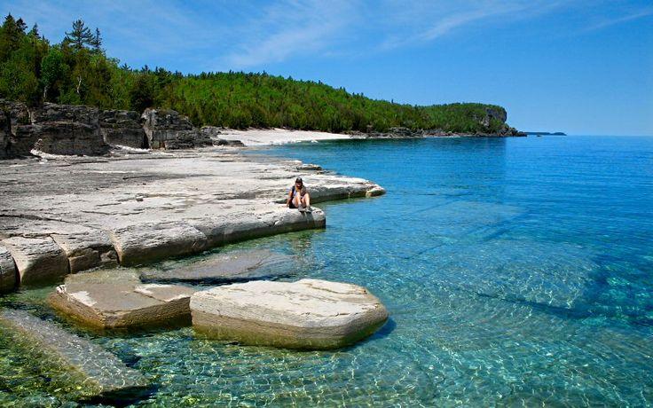 Tobermory, Bruce Peninsula National Park, Ontario, Canada