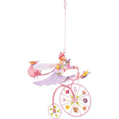 Mobile Triplette papillon rose - L'oiseau bateau