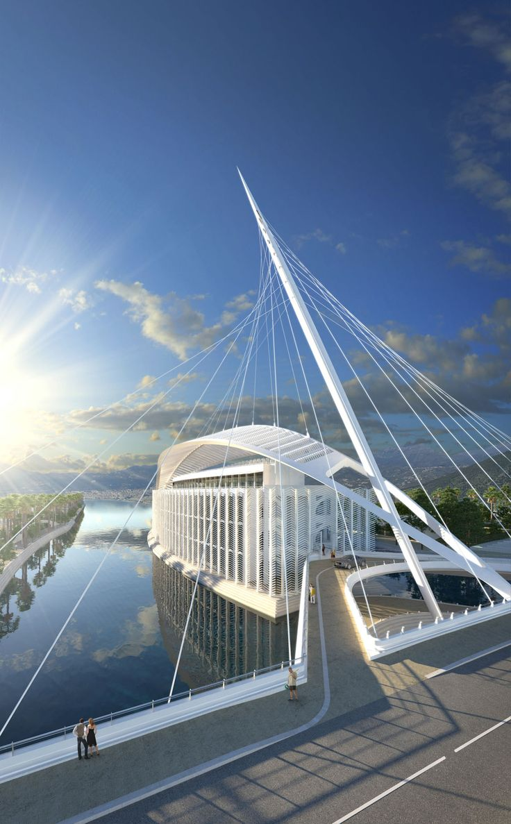 Marina d'Arechi / Salerno (Gallery) - Santiago Calatrava – Architects & Engineers