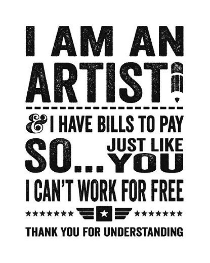 Every artist's policy.