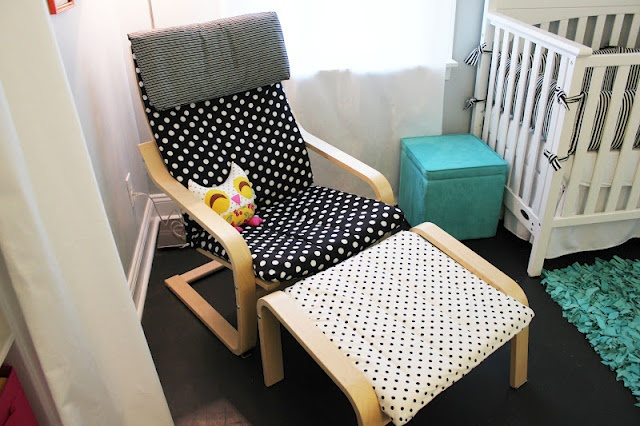 Decorating Ideas Ikea Lack Shelves ~ recovered ikea poang chair  Nursery  Pinterest  Chairs, Ikea and