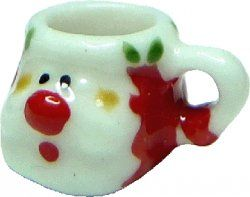 Santa mug/red