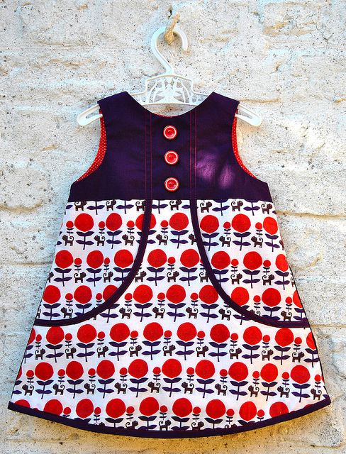 """My daughter says """"someday I want you to buy that dress for me so I can wear it. I can button those buttons."""""""