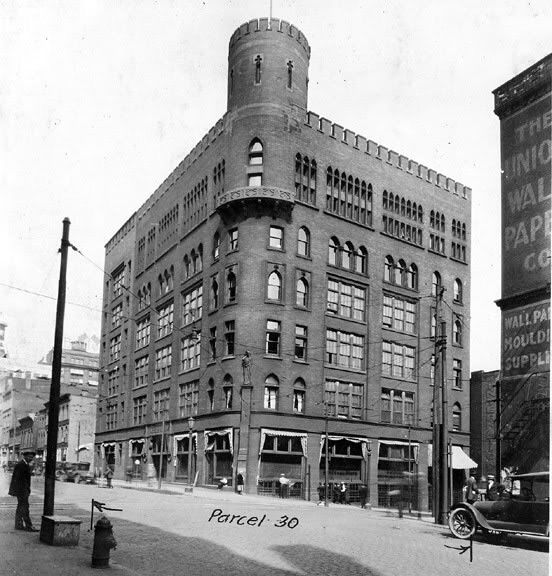 The Great city of Cleveland Ohio, born & raised & proud to call my home. These pictures are from I time I didn't get to see but sure wish I had! The images are breath taking beautiful in my eyes! Old Central Police Station cleared to make room for the Terminal Group Project.