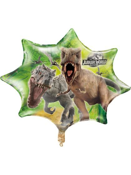 """Jurassic World 28"""" Giant Balloon - Themed Balloons and Individualized Party Supplies"""