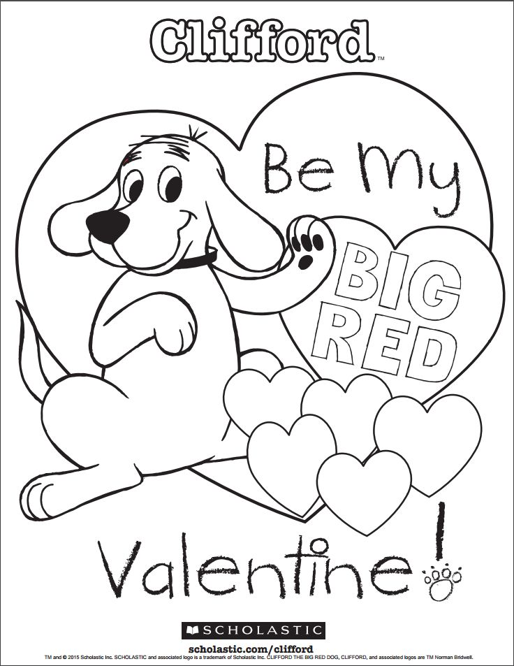 Your Little One Can Celebrate Valentine S Day By Coloring In Her Favorite Big R Valentine Coloring Pages Valentines Day Coloring Page Valentine Coloring Sheets