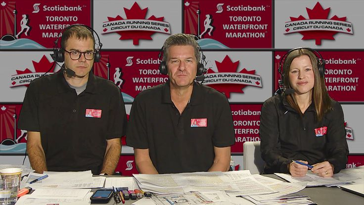 Tim Hutchings To Lead Live Broadcast of Scotiabank Toronto Waterfront Marathon - Canada Running Series