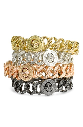 MARC BY MARC JACOBS 'Small Katie' Boxed Pavé Turnlock Bracelet- <3 them all!