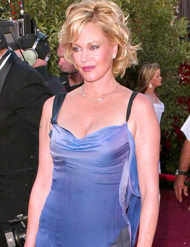 Melanie Griffith - before too much surgery
