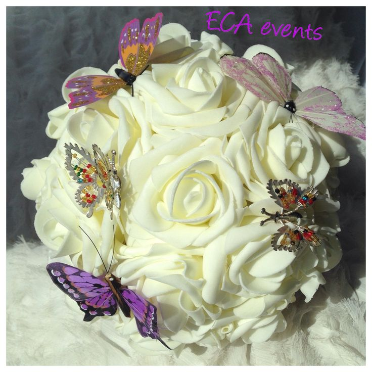 wedding bouquet , bridalbouquet , handmade, nunta , buchet de mireasa , broochbouquet bijoux weddings candle ceremonie wedding church bride groom bridesmaid ECA events wedding flowers concarde butoniere groomflowers groom godmother bestman FOR SALE butterfly