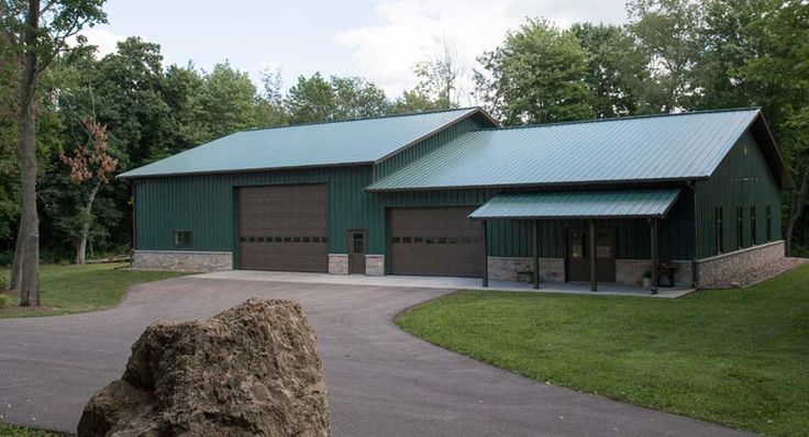 1000 ideas about metal building homes on pinterest for Barndominium floor plans with garage